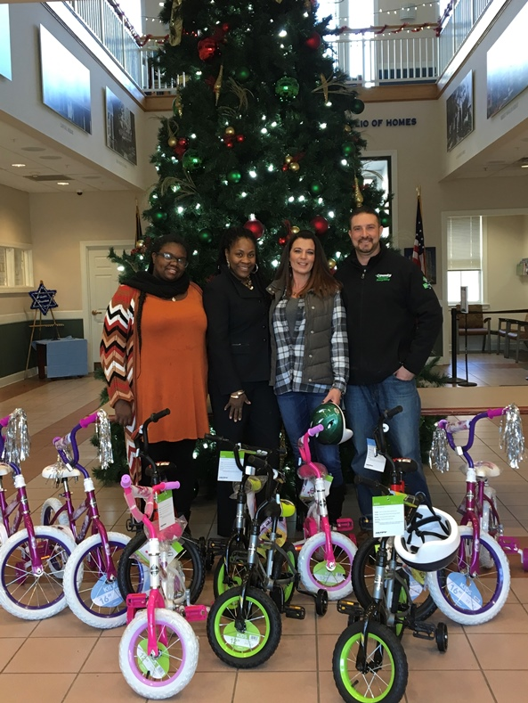 County Waste Donates Bikes to Albany Housing Authority