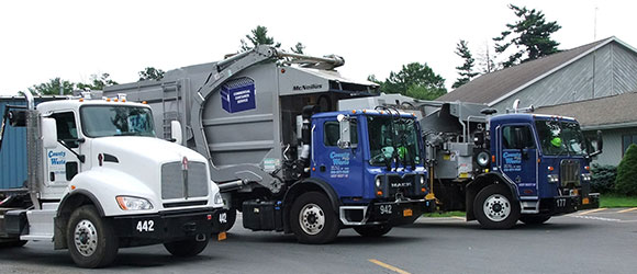 County Waste Trucks